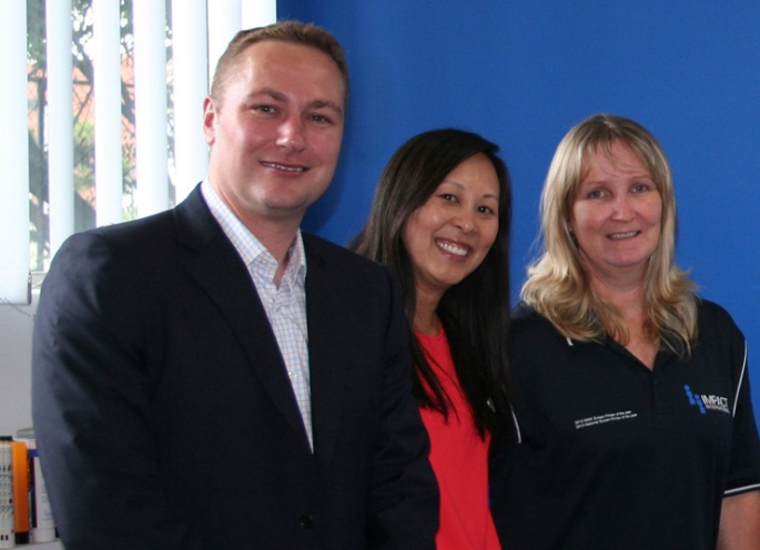 Image of Debbie Dunn with employer and rehab provider